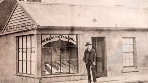1863 BEALES TAILOR SHOP, Torquay history